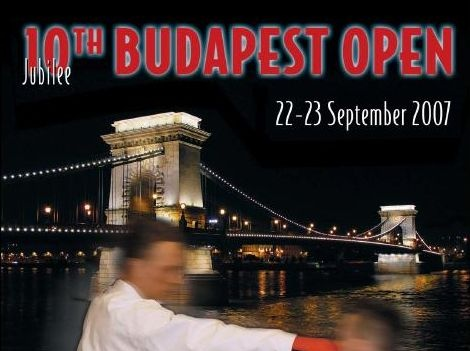 10th Budapest Open (22.-23.9.2007)