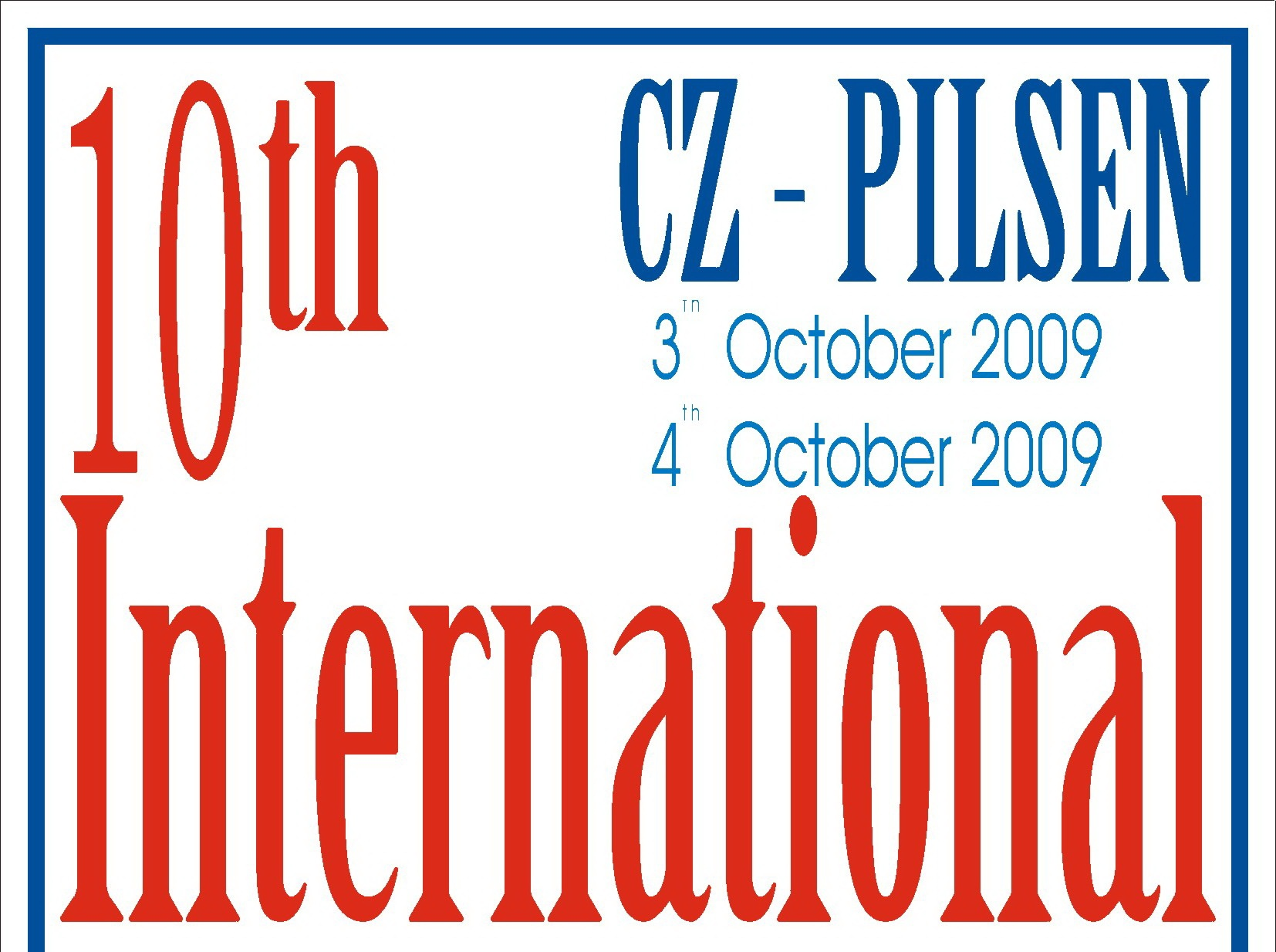 CZECH KARATE OPEN - PILSEN 2009