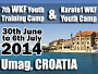 Training Camp & K1 WKF Youth Cup, Umag (Chorvátsko)
