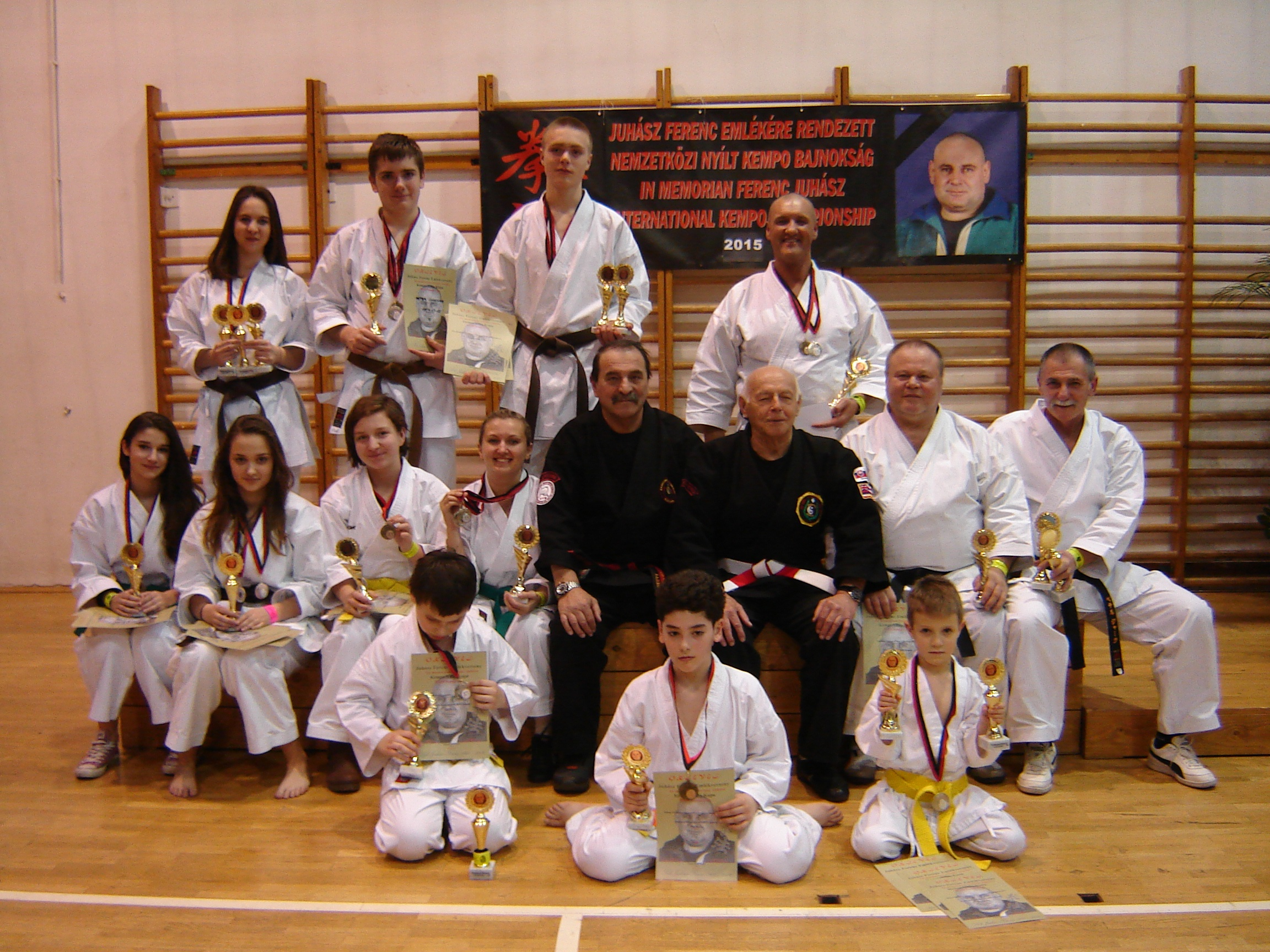 OPEN KEMPO WORLD CUP 2015 a 5º ICKKF WORLDWIDE WORLD ALL STYLES CHAMPIONSHIP