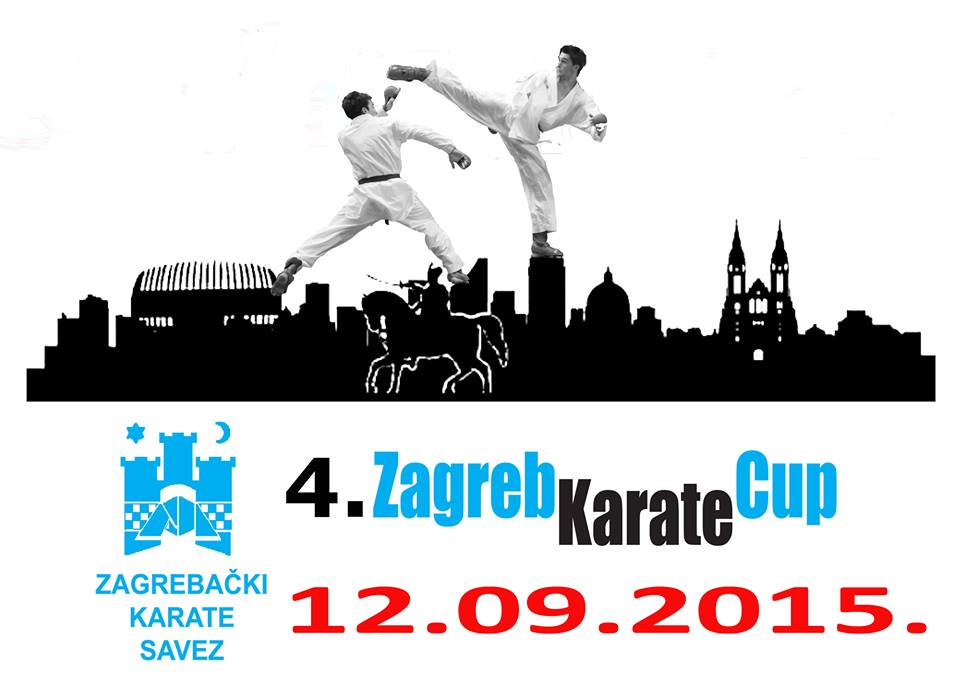 4th Zagreb Karate Cup 2015